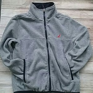 Nautica Gray Fleece Size 8
